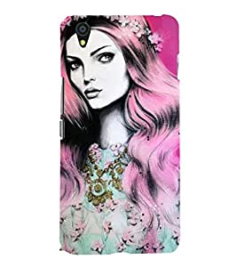 Fairy lady Back Case Cover for One Plus X::One + X