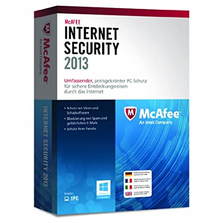 McAfee Internet Security 2013 - 1 User