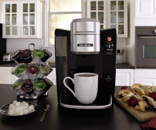 Mr. Coffee Single Serve Coffee Brewer BVMC-KG6-001, 40-Ounce, Black