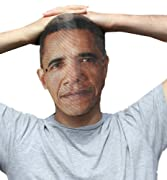 Comfortable, Breathable BARACK OBAMA MASK - AS REAL AS IT GETS!