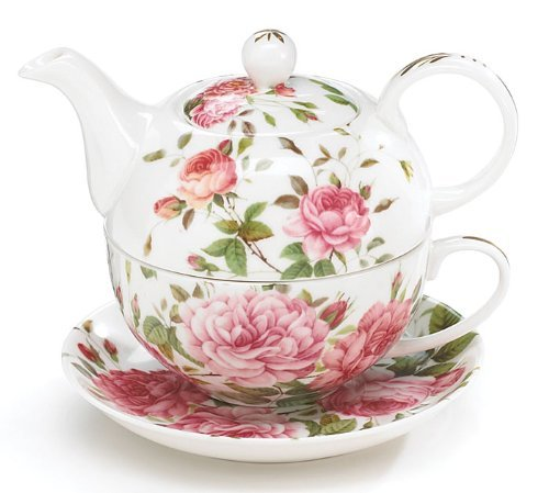 Why Choose Porcelain Rose Teapot and Teacup For One