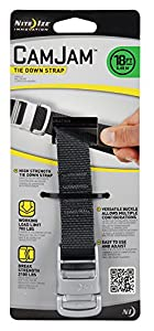 Nite Ize CamJam Tie Down Strap with Metal Buckle 6ft