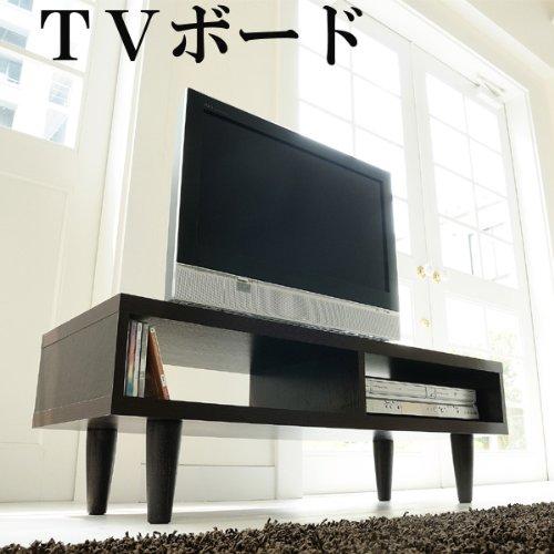 北欧風テレビ台 テレビボード TVボード TV台 ローボード「Ribe」 ブラウン