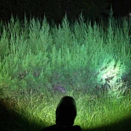 Vktech Super Bright Led Flashlight Torch Light 1200Lm 10W Adjustable Zoom Portable