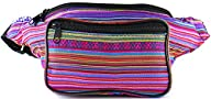 SoJourner Bags Woven, Fabric Fanny Pack