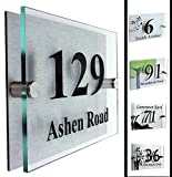 Modern Acrylic Address Plaque