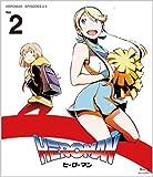 HEROMAN Blu-ray 02巻 (初回限定版) 9/22発売