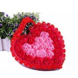 I Love You Valentine Girlfriend Gift Loving Heart Shaped Super Cute & Adorable Heart-shaped Rose Fragrance Scented...