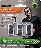 COMPLY (コンプライ) イヤホンチップ Tx-200 ブラック Mサイズ 3ペア (並行輸入品)