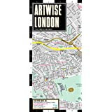 Artwise London Museum Map - Laminated Museum Map of London, England ~ Streetwise Maps