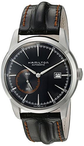 Hamilton hombre h40515731Timeless Classic analógico pantalla Swiss-Reloj automático negro