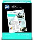 HP LaserJet Paper, 97 Brightness, 8.5 x 11 Inches, 24 lb, 500 Sheets (11240-0)