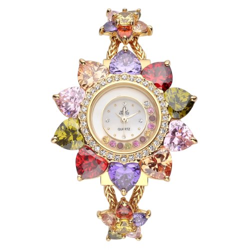 viki-lynn-sunflower-quartz-watch-18k-gold-plated-watch-chain-decorated-with-high-quality-colorful-ar