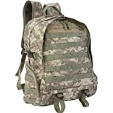 Extreme Pak 17″ Digital Camo Backpack with US Shelby P38 Keychain Can Opener Picture