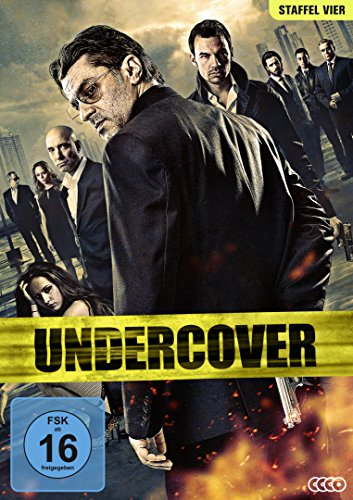 Undercover - Staffel 4 [4 DVDs]