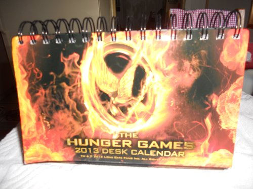 The Hunger Games 2013 Desk Calendar