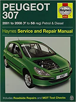 peugeot 307 service and repair manual haynes service and. Black Bedroom Furniture Sets. Home Design Ideas