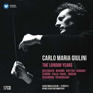 Carlo Maria Giulini : The London Years (Coffret 17CD)
