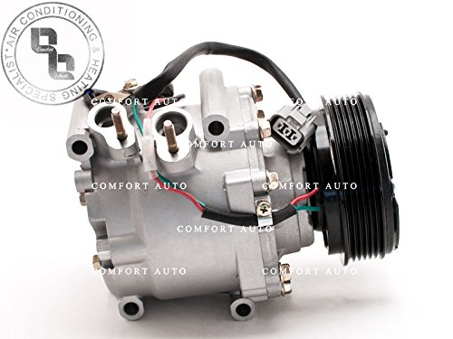 2002 Honda Civic 4 dr sedan / 2003 2004 2005 Honda Civic 1.7L New AC Compressor with 1 Year Warranty (02 Sensor Conector compare prices)