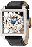 Stuhrling Original Men's 333N.33152 Classic Winchester Plaza Automatic Skeleton Silver Tone Watch