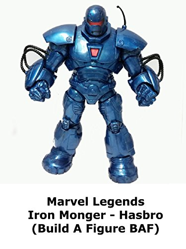 Review: Marvel Legends Iron Monger - Hasbro (Build A Figure BAF)