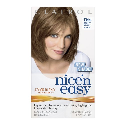 Clairol Nice 'N Easy 106G Natural Dark Golden Blonde (Pack Of 2) front-102268