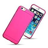 Apple iPhone 6 4.7'' TPU Gel Skin Case by Qubits - Hot Pink (118-113-014_QB)
