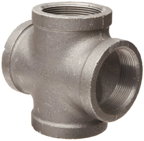 Anvil malleable iron pipe fitting cross