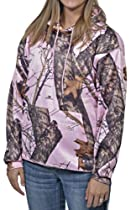 Mossy Oak Pink Hoodie Womens Performance Hooded Sweatshirt XL fits XL XXL 2XL (Mossy Oak Pink Snow, XL)