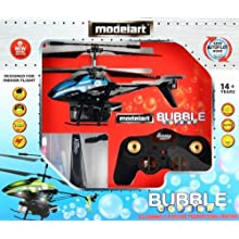 Modelart 4.5 Channel Heli With Bubble Blower, Blue