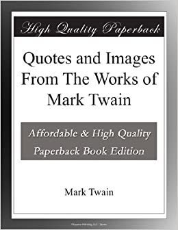 mark twain quote on writing a book