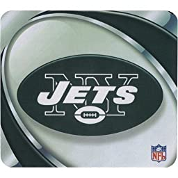 NFL Football Team Logo Vortex Sublimated Mouse Pad - New York Jets