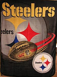 Pittsburgh Steelers NFL Large 60 inch Blanket