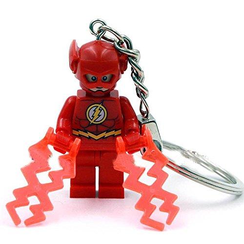 [The Flash (TV Series) SuperHeroes Minifigures Keychain Building Blocks Bricks Size 4.5 cm no orignial box,new in sealed] (Jessica Jones Marvel Costume)