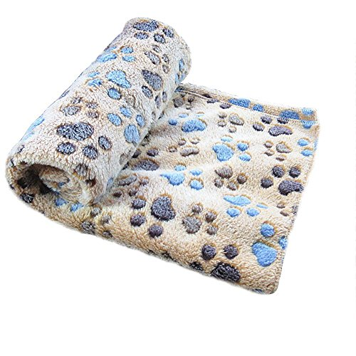 Allisandro-warme-und-weiche-Decke-fr-Haustier-wie-z-B-Hunde-oder-Katzen-aus-Korallen-Vlies-Kaffeebraun-L