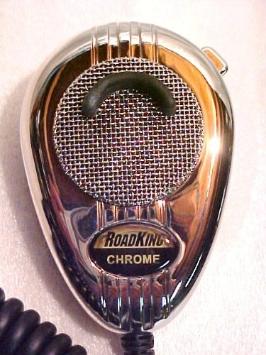 Redman Cb Custom Wired 5 Pin Cobra Uniden Turner Telex 56 Chrome Cb Radio Road King Microphone