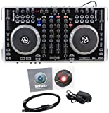 Brand New Numark N4 4-Deck Digital USB/MIDI DJ Controller + DJ Mixer with External Mixing Ability and USB Audio Interface