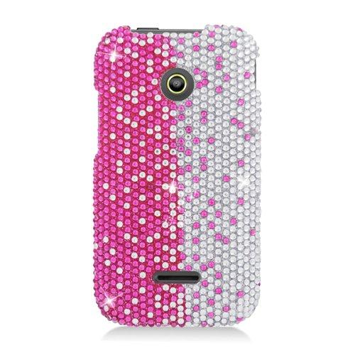 Hw Prism Ii/U8686 Cs Diamond Cover Pink,Silver,Vertial 322