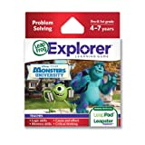 LeapFrog Disney Pixar Monsters University Learning Game (works with LeapPad Tablets, LeapsterGS, and Leapster... by LeapFrog