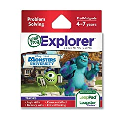 LeapFrog Explorer Disney Pixar Monsters University Learning Game