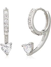 Sia Art Jewellery Clip-On Earrings For Women (Silver) (AZ3625)