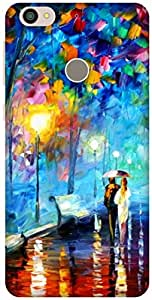 The Racoon Lean A Walk to Remember hard plastic printed back case / cover for Letv Le 1s