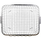 Planet Heavy Stainless Steel Dish Drainer - Silver (Size:54 X 42 X 18 Cm)