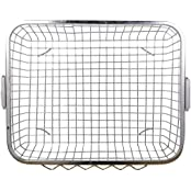 Planet Heavy Stainless Steel Dish Drainer - Silver (Size:60 X 48 X18 Cm)