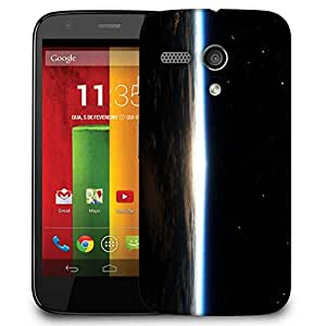 Snoogg Satelite Designer Protective Phone Back Case Cover For Motorola G / Moto G