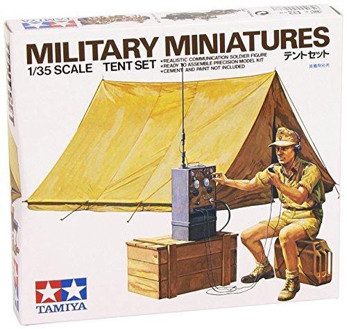 Tamiya 1:35 Tent Set - 1