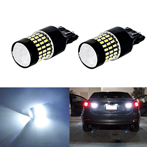 JDM ASTAR Super Bright 78-EX Chipsets 7440 7441 7443 7444 992 LED Bulbs with Projector,Xenon White (96 Honda Accord Ex Tail Lights compare prices)