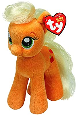 "My Little Pony - Apple Jack 8"" by Ty Beanie Babies"