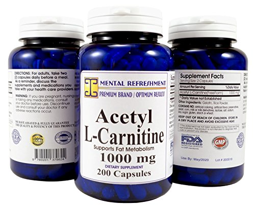 Acetyl-L-Carnitine-1000-mg-200-Capsules-1-Bottle