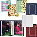 ECHO VALLEY MG-100 Mini Photo Album, 4 by 6-Inch, Assorted Designs